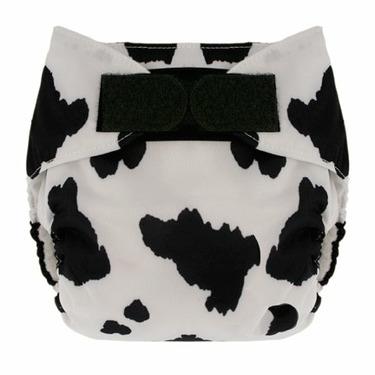 Swaddlebee EcoNappi Aplix One-size Cloth Diaper (Cow)