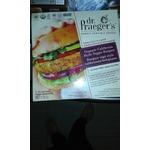 dr. Praeger's organic California style veggie burgers