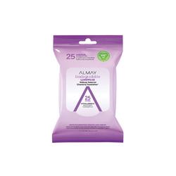 Almay Biodegradable Longwear Makeup Remover Cleansing Towelettes