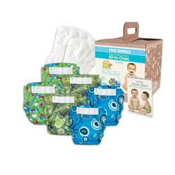 Bumkins Diaper Bundle 6-Pack - Boy, Small