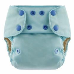 Swaddlebee EcoNappi One-Size Cloth Diaper (Mint Blue (Baby Blue))