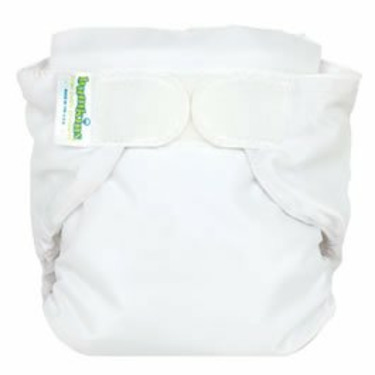 Bumkins All-in-One Cloth Diaper - White (L)
