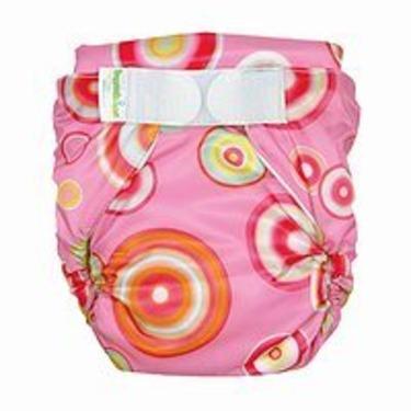Bumkins All-in-One Cloth Diaper - Pink Fizz (M)