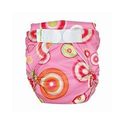 Bumkins All-in-One Cloth Diaper - Pink Fizz (M)
