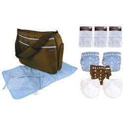 Trend Lab Cloth Diaper Starter Pack, Boy