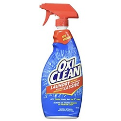 OxiClean laundry pre- treat stain remover