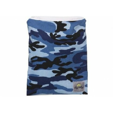 LARGED ZIPPERED WET BAGS BLUE CAMO