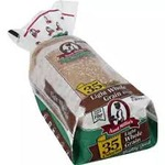 Aunt Millies 35 calorie whole grain bread