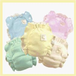 Absorb It All Organic Cotton Diapers - Natural Color Toddler