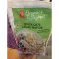 pc organic quick oatmeal
