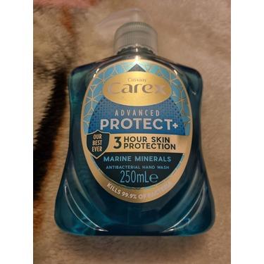 carex antibacterial liquid soap
