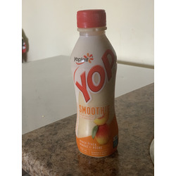 Yoplait yop smoothy mango and peach
