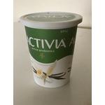 Activia active probiotic vanilla