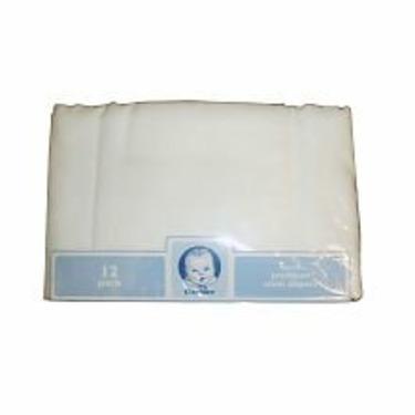 Gerber 12-Pack Cloth Diaper Birdseye Flatfold