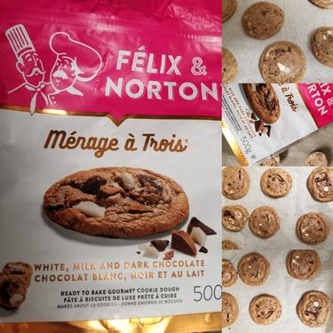 Felix and Norton Ready To Bake Cookie Dough-Menage a Trois