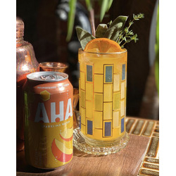Aha Peach and Honey Sparking Beverage