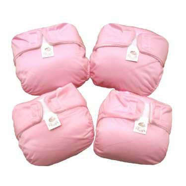 8 CUTE AIO CLOTH DIAPERS WITH INSERT FOR NEWBORN-20LBS EXTRA SOFT