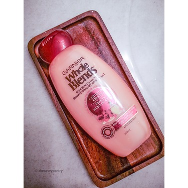 Garnier Whole Blends Castor Oil Remedy Shampoo