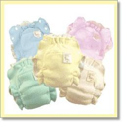 Absorb It All Organic Cotton Diapers - Natural Color - infant