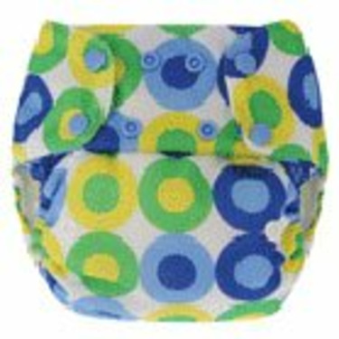 Blueberry One-Size Diaper Deluxe - Blue Summer
