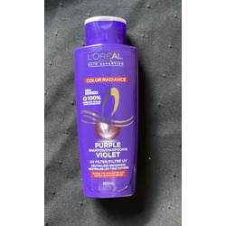 Loreal paris color radiance purple shampoo and conditioner