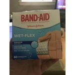 Band-Aid Wet-Flex Bandages