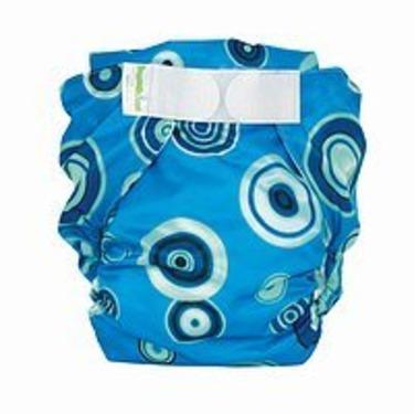 Bumkins All-in-One Cloth Diaper - Blue Fizz (L)