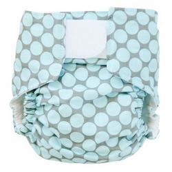 Blue Full Moon Dot Designer Cloth Diaper