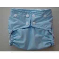 ButterBears Baby Blue One Size Cloth Pocket Diaper