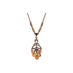 Topaz Drop Necklace