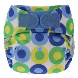 Swaddlebees Hook/Loop Econappi, Blue Summer