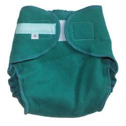 CYA Cashmere Wrap Diaper Cover - Jade Medium