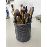 Emax design  14 pieces golden black brushes set