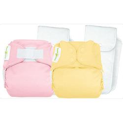 bumGenius One-Size Cloth Diaper 4.0 - Butternut - Hook & Loop