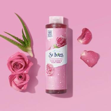 St. Ives Rose Water & Aloe Vera Body Wash