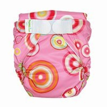 Bumkins All-in-One Cloth Diaper - Pink Fizz (L)
