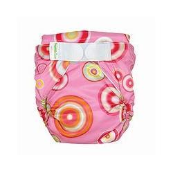 Bumkins All-in-One Cloth Diaper - Pink Fizz (L)