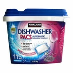 Kirkland dishwasher detergent pacs
