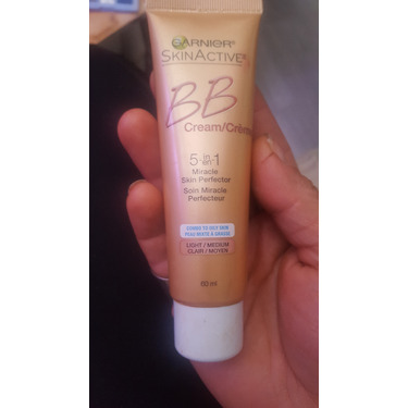 Garnier skin active 5in1 miracle cream perfector oil free bb cream