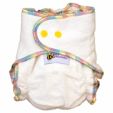 Baby BeeHinds One Size Hemp Fitted Cloth Diaper 24 Pack