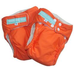 CYA Organic Cotton AIO Snaps - Orange Small