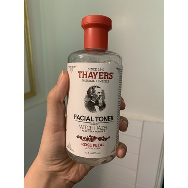 Thayers Rose Petal Facial Toner Witch Hazel Aloe Vera Formula