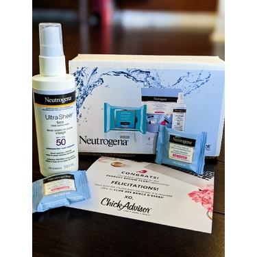 Neutrogena Ultra Sheer Face Mist Sunscreen Spray SPF 50