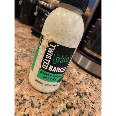 Twisted Ranch Cheddar Popped Jalapeño dressing