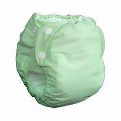 Knickernappies 2G Pocket Diapers - Small - Celery