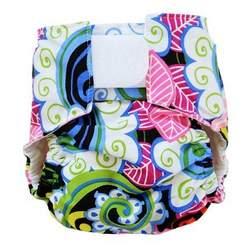 Garden Collage Designer Diaper