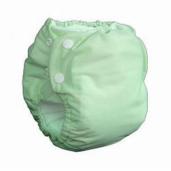 Knickernappies 2G Pocket Diapers - Medium - Celery