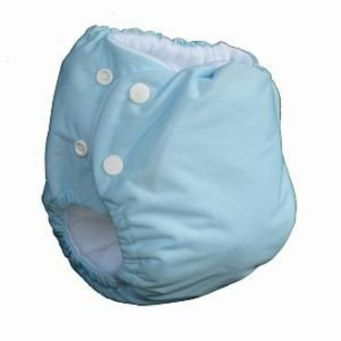 Knickernappies 2G Pocket Diapers - Medium - Seaspray