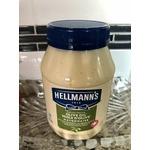 Hellman's olive oil mayonnaise