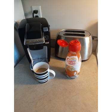 Coffee mate caramel macchiato